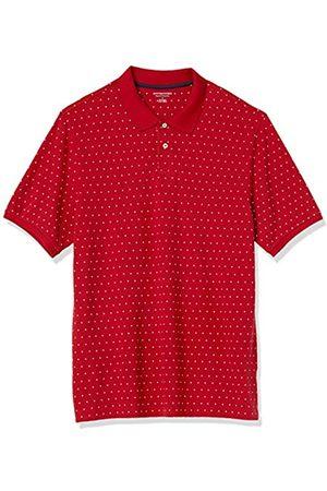 Amazon Polo in Cotone piqué di Taglio Regolare Shirts, Pois / , US L