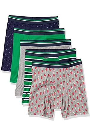 Amazon 5-Pack Tag-Free Boxer Briefs, Popsicle, US XXL