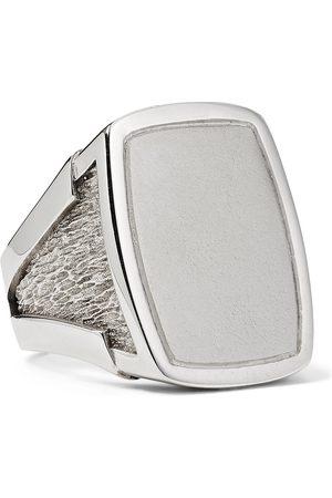 Bottega Veneta Uomo Anelli - Sterling Signet Ring