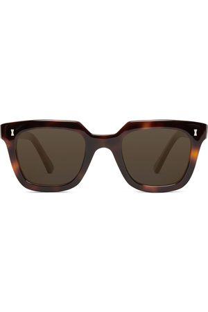 Cubitts Uomo Occhiali da sole - Balfour Square-Frame Tortoiseshell Acetate Sunglasses