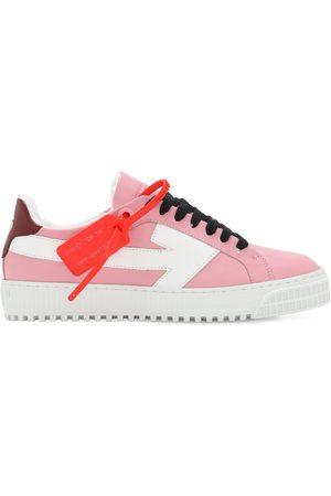 """OFF-WHITE Sneakers """"arrow"""" In Pelle 20mm"""