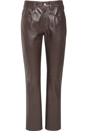 MM6 MAISON MARGIELA Pantaloni In Pelle