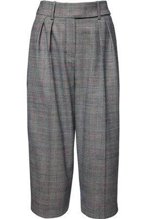 ALEXANDRE VAUTHIER Shorts In Lana Principe Di Galles