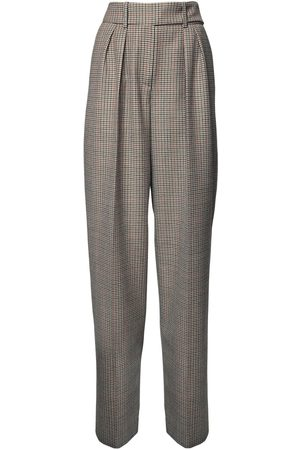 ALEXANDRE VAUTHIER Pantaloni Vita Alta Principe Di Galles