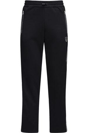 EA7 Pantaloni In Felpa Di Misto Cotone