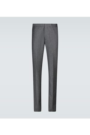 Loro Piana Uomo Eleganti - Pantaloni Leisure City in lana