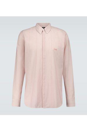 Fendi Camicia Alabastro