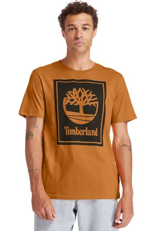 Timberland Uomo Maniche corte - T-shirt Da Uomo Stack Logo In