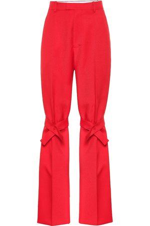 Bottega Veneta Pantaloni in nylon stretch