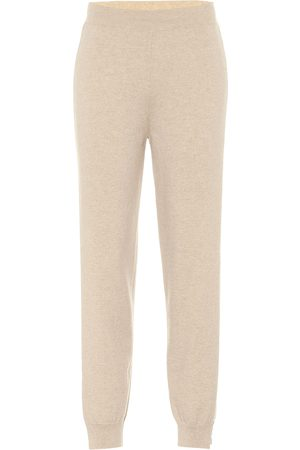Stella McCartney Pantaloni sportivi in lana e cashmere