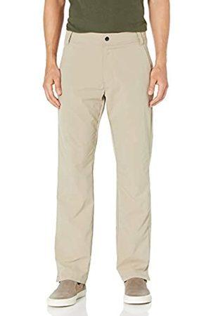 Amazon Regular-Fit Hybrid Tech Pant Pants, Khaki Chiaro, 36W x 31L