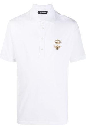 Dolce & Gabbana Polo con ricamo