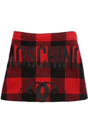 Moschino Gonna In Misto Lana Tartan
