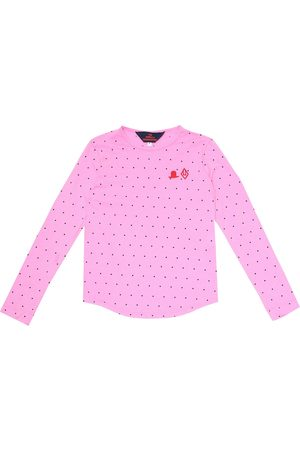 The Animals Observatory T-shirt a pois in cotone