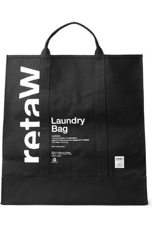 Reta Logo-Print Cotton-Canvas Laundry Bag