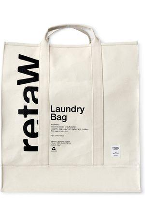 Reta Uomo Portafogli e portamonete - Printed Cotton-Canvas Laundry Bag