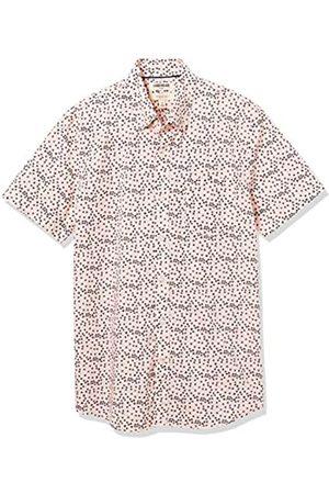 Goodthreads Slim-Fit Short-Sleeve Printed Poplin Shirt Button-Down-Shirts, Placeholder Print, 3XL