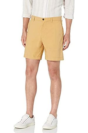 "Amazon Regular-Fit Lightweight Stretch 7"" Short Shorts, Wheat, 33"