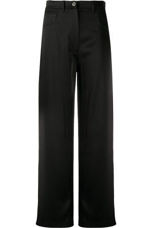 Nanushka Pantaloni a gamba ampia - Di colore