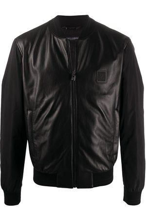 Dolce & Gabbana Leather panel jacket - Di colore