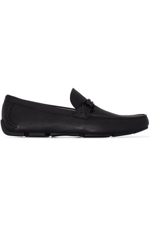 Salvatore Ferragamo Uomo Stringate e mocassini - Front 4 leather loafers