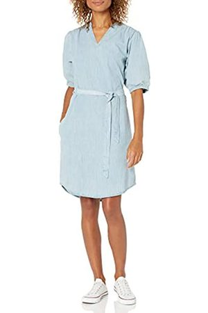 Goodthreads Denim Smock Dress Dresses, Light Wash, US XXL