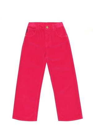 VERSACE Pantaloni in velluto a coste