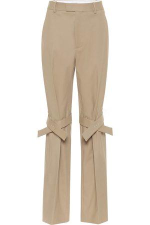 Bottega Veneta Pantaloni in cotone stretch