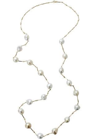 YVEL Collana Station in oro 18kt con perle dei Mari del Sud - YLWGOLD