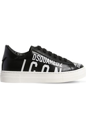 "Dsquared2 Sneakers ""icon"" In Pelle Stampata"