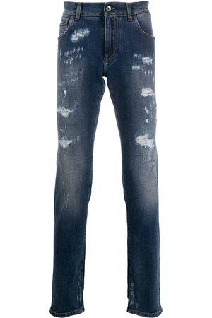 Dolce & Gabbana Jeans slim effetto vissuto