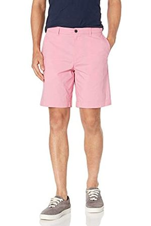 "Amazon Uomo Pantaloncini - Slim-Fit Lightweight Stretch 9"" Short Flat-Front-Shorts, Slavato, 36"