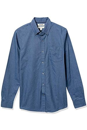 Goodthreads Uomo Casual - Slim-Fit Long-Sleeve Solid Oxford Shirt Camicia, , Large