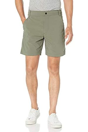 "Amazon Uomo Pantaloncini - Regular-Fit Hybrid Tech 7"" Short Athletic-Shorts, Jacky's, 36"