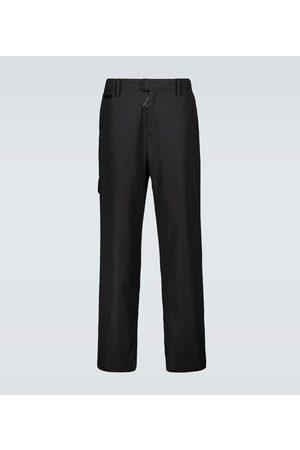 OFF-WHITE Pantaloni chino in cotone