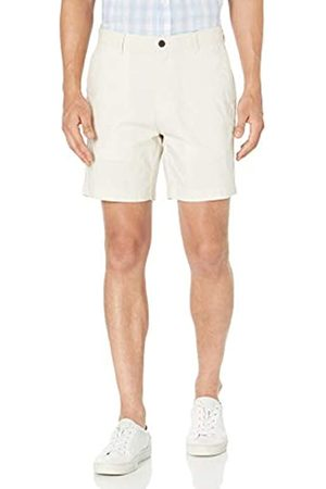 "Amazon Uomo Pantaloncini - Slim-Fit Lightweight Stretch 7"" Short Shorts, Pietra, 38"