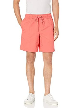 Amazon Uomo Pantaloncini - Pantaloncini con Coulisse da 23 cm. Athletic-Shorts, Misura Media, AMZ1