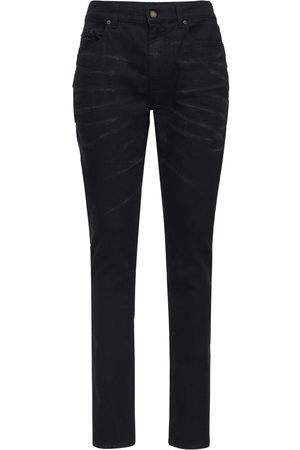 Saint Laurent Jeans Skinny In Denim Stretch 16cm
