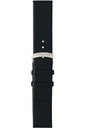 Morellato Cinturino in pelle unisex LARGE nero A01X3076875019CR28, 28 mm