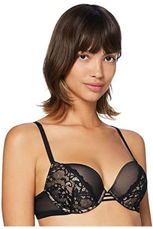 IRIS & LILLY Marchio Amazon - Reggiseno in Pizzo Push-Up Donna, , 4B, Label: 38B