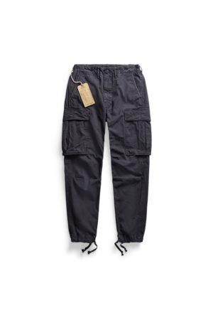 RRL Pantaloni cargo militari in tela