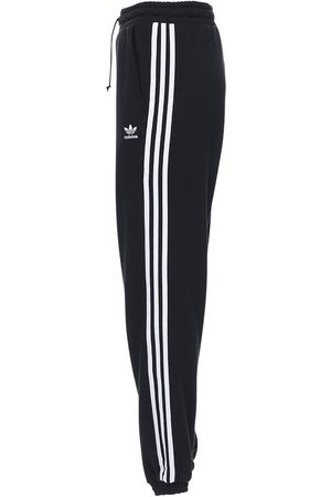 adidas Pantaloni Regular Fit In Felpa Di Cotone
