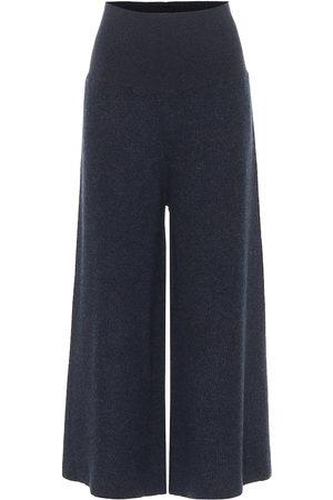 Stella McCartney Pantaloni a gamba larga in lana e alpaca