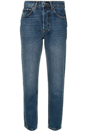 ANINE BING Jeans dritti Sonya