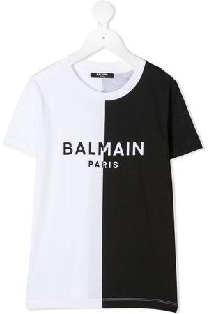 Balmain Kids T-shirt - T-shirt bicolore - Di colore