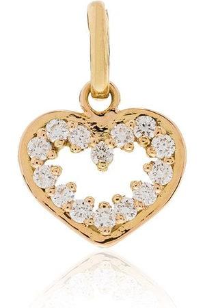 GIGI CLOZEAU Pendente in 18kt con diamanti - YELLOW GOLD