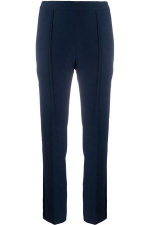 HEBE STUDIO Pantaloni skinny con bande laterali - Di colore