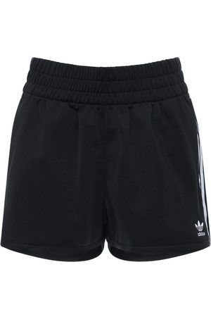 "adidas Shorts ""3 Stripes"" In Felpa Di Cotone"