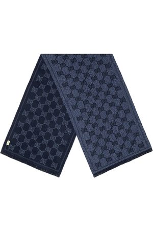 Gucci Sciarpa GG con effetto jacquard