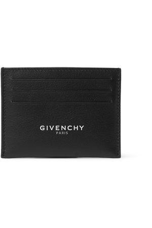 Givenchy Uomo Portafogli e portamonete - Logo-Print Leather Cardholder